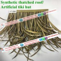 Buy cheap african synthetic thatch, artificial roof materials, artificial thatch rolls AT-004 from wholesalers