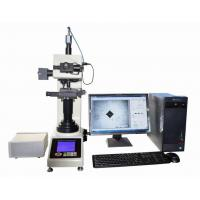 Buy cheap Automatic Vickers Hardness Testing Machine With Motorized X-Y Anvil / Vickers Software from wholesalers