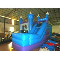 Buy cheap Disney Forzen inflatable combo inflatable forzen bouncer plus slide princess combo from wholesalers