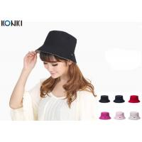 Buy cheap Popular Custom Caps Hats Embroidered , Black Fisherman Hat For Women from wholesalers