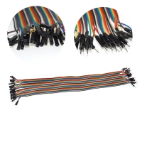 Buy cheap 40cm 40 Pin Male To Female Solderless Breadboard Jumper Wires from wholesalers