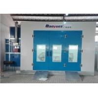 Buy cheap Large Portable Garage Spray Booth Equipment 4.5M Width Belt Drive Fan from wholesalers