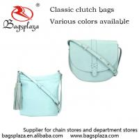 Buy cheap Fashion Light Blue Crossbody Bags Tassel Shoulder Bags For Women 2016 from wholesalers