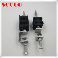 China Base Station GSM Rf Cable Clamps Anti Rust 304 Stainless Steel Material on sale