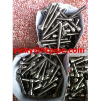 Buy cheap Inconel 718 Incoloy 825 stainless steel stud bolts with hex nut China manufacturer from wholesalers