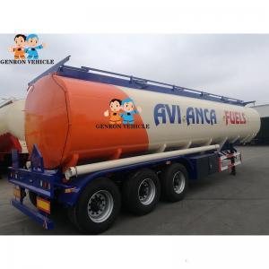 China Corrosive Resistant Hydrochloric Acid 48000L Liquid Tanker Trailer on sale