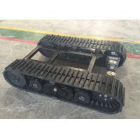 Buy cheap 60  Links Rubber Track Undercarriage 357kg Weight For Robot / Loader Machinery from wholesalers