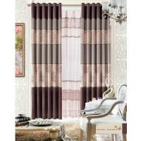 Buy cheap Custom Polyester Lace Home Textile Products Insulated Blackout Window Curtain product
