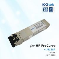Buy cheap For HP SFP+ J9150A, HP ProCurve 10-GbE SFP+ SR Transceiver from wholesalers