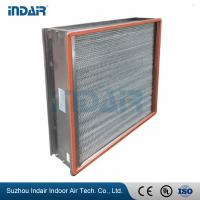 Buy cheap H13 Clean Room HEPA Filters , HEPA Air Filter 450Pa Final Pressure Drop from wholesalers