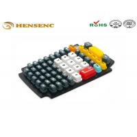 Buy cheap OEM Rubber Plastic Molding Keypad , Flexible Rubber Molding Game Button from wholesalers