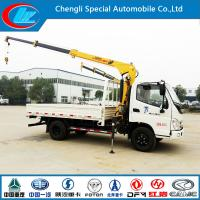 Buy cheap New Model Foton 4X2 Crane Mounted Truck for Sale (CLW1900) from wholesalers