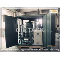 Buy cheap Hydraulic Oil Purification Machine, Hydraulic Oil Cleaning System, Oil Purifier, Vacuum Oil Porcessing Unit TYA-100 from wholesalers