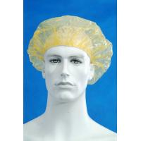 Buy cheap Customized Disposable Surgical Caps / Shower Cap Pe Material Transparent Color from wholesalers
