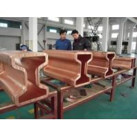 Buy cheap Standard H Beam Copper Mould Tube Tubing  Customised Sizes Copper Rectangular from wholesalers
