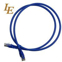 Buy cheap Deep Blue Network Patch Cord With Al - Foil Shielding 0.5 / 1 /2 / 3 / 5m Optional from wholesalers