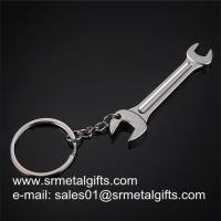 China Metal Lever Tool Key tag Key Rings, Alloy Wrench Spanner Car Keychains in stock, on sale