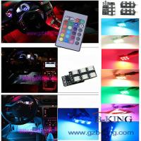 Buy cheap 16-colors Car LED Interior Atmosphere Floor Decorative Light from wholesalers