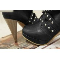 Buy cheap high heel elegant ornament genuine leather lady boot  from wholesalers