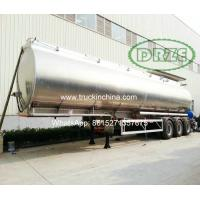 Buy cheap TIC Aluminium alloy Tanker Truck trailer 45,000 litres from wholesalers
