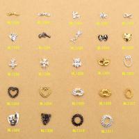 China Hot NEW Wholesale Alloy Jewelry 3D Nail Art Jewelry Nail rhinestones Sticker Supplier Number ML1288-1311 on sale