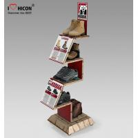 Buy cheap Comfortable Inspire Shoe Store Wooden Display Racks Sneaker Display Shelves from wholesalers
