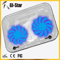 Buy cheap Two fans ABS+metal materials laptop coolers, notebook cooling pad product