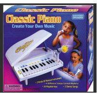 Buy cheap Classic Small Plastic Toy Piano Battery Operated With Microphone Demo Songs from wholesalers