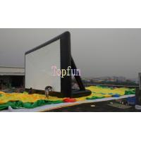 Buy cheap 0.55mm PVC Commercial Inflatable Movie Theater Screens for Outside / Firproof And Waterproof from wholesalers