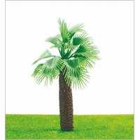 Buy cheap M009 HO Train Layout Miniature Model Trees Green Street Coconut Tree 11cm from wholesalers