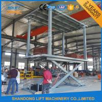 Buy cheap Hydraulic Car Lift Double Platform Scissor Car Auto Lift with CE from wholesalers