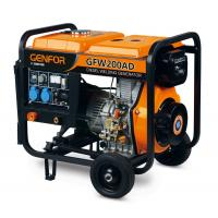 Buy cheap 220A 7KW ARC Diesel Powered Welder , Welder Generator Machine Single Cylinder Engine from wholesalers