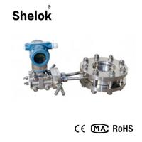 Buy cheap Differential pressure fuel 4-20mA RS485 orifice plate liquid gas flow meter from wholesalers