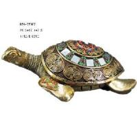 China Home Decoration Polyresin Turtle Statue (D24-72007) on sale