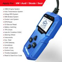 Buy cheap Autophix V007 Konnwei KW350 Audi OBD2 Scanner SRS Air Bag Diagnostic Tools from wholesalers