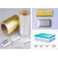 Buy cheap Soft Tropical Blister Packaging Materials Aluminum Blister Foil from wholesalers