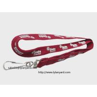 Buy cheap Silk Screen Printing Lanyard, Tube Lanyard, Hollow Lanyard from wholesalers