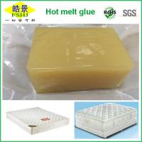 Buy cheap Yellow Non - Transparent Hot Melt Adhesive Block High Stickiness For Mattress from Wholesalers