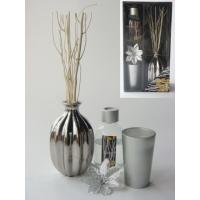 Buy cheap Gold /silver christmas reed diffuser gift set from wholesalers