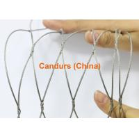Buy cheap Stainless Steel Knotted Rope Mesh-Flexible Hand Woven Rope Mesh from wholesalers