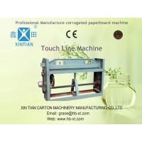 Buy cheap Simple Paperboard Folding And Gluing Machine , Carton Box Forming Machine from wholesalers