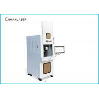 Buy cheap Safety Cover Enclosed Cabinet Fiber Marking Machine 20 Watt For Alloy Aluminum Diamond from wholesalers