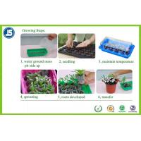 Buy cheap Black Plastic Seeding Tray Or Propagation Tray PS / PE For Greenhouse product