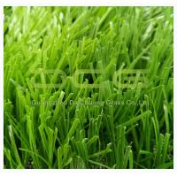 Buy cheap Natural Looking Synthetic Artificial Grass / Artificial Turf Football Fields S Shape from wholesalers