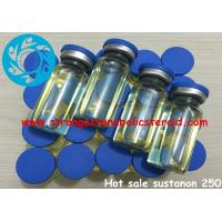 Buy cheap Oil Base Sustanon 250 Testosterone Mix Finished Injectalbe Test Blend Steroids from wholesalers