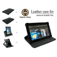 Buy cheap Rotary Leather Case for Kindle Fire, Various Colors Are Available, Easy Installation from wholesalers