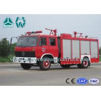 Buy cheap Double Cabin Dry Powder Fire Fighter Truck 4 x 2 Dongfeng Chassis from wholesalers