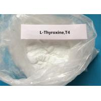 Buy cheap ISO 9001 T4 Anabolic Oral Steroids L-Thyroxine 51-48-9 in White Powder from wholesalers