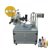 Buy cheap Alcoholic Beverages Semi Automatic Labeling Machine With High Precision from wholesalers