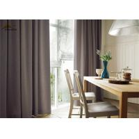 Buy cheap Flame Retardant UV Blocking Curtains / Decor Pink Jacquard Curtains For Hotel from wholesalers